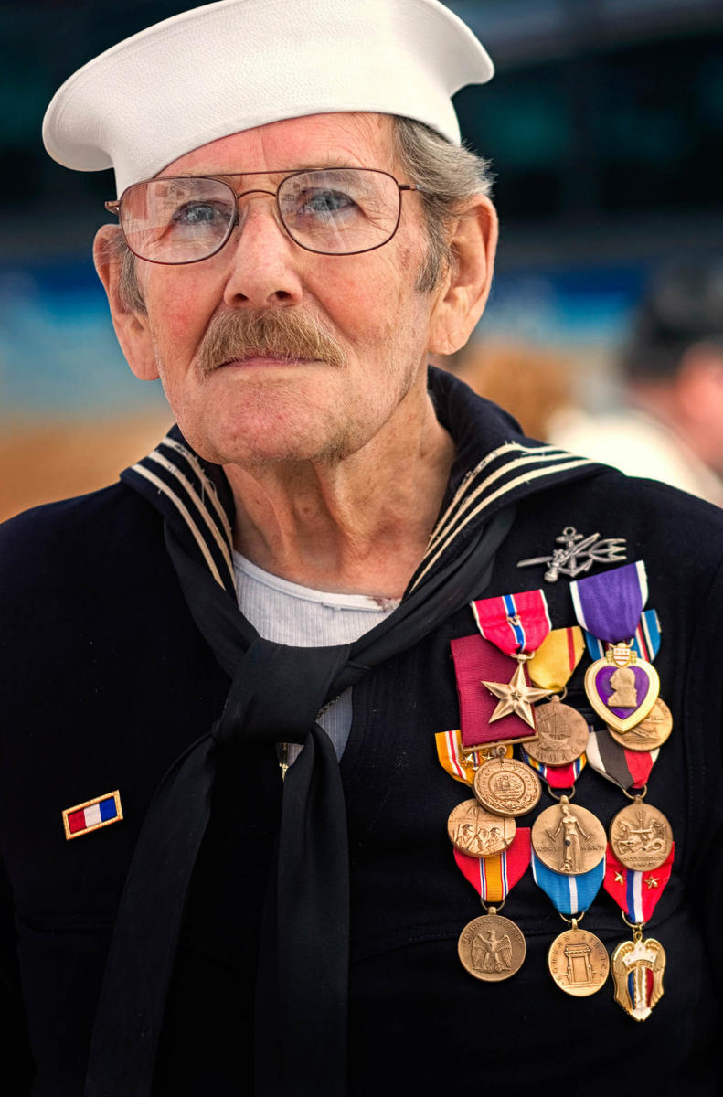 A member of the greatest generation, also from Faces of heroes.